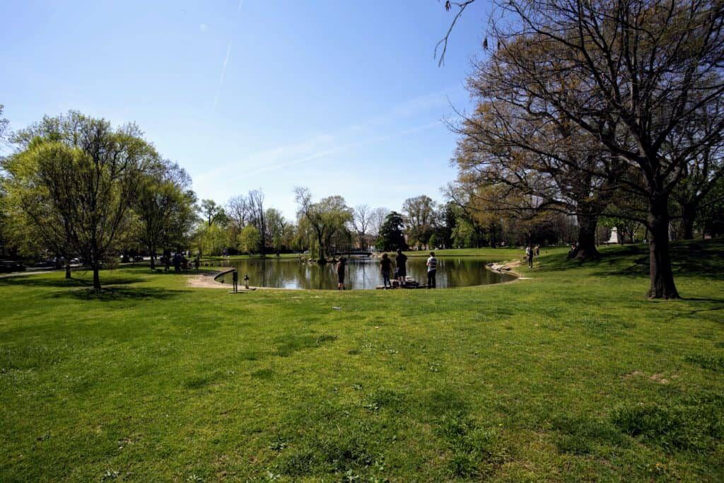 Visit Schiller Park in German Village